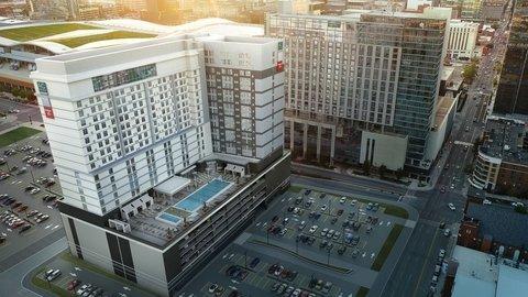 Marriott Tri-Brand Hotel Opens
