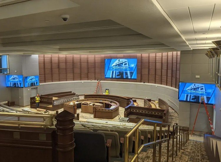 Fulton board of commissioners renovation